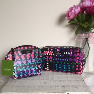 Kate spade shore street cosmetic cases/ pouches